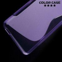 Силиконовый чехол для HTC Desire 826 dual sim - Фиолетовый