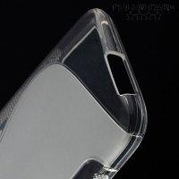 Силиконовый чехол для HTC One M9 - Прозрачный