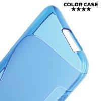 Силиконовый чехол для HTC One M9 - Синий