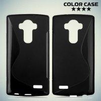 Силиконовый чехол для LG G4 ColorCase - Черный