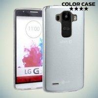 Силиконовый чехол для LG G4 Stylus H540F - белый