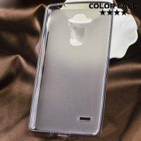 Силиконовый чехол для LG G4 Stylus H540F - черный