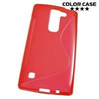 Силиконовый чехол для LG G4c H522y ColorCase - Красный