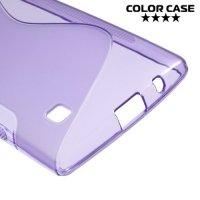 Силиконовый чехол для LG G4c H522y ColorCase - Фиолетовый