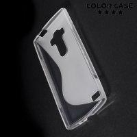 Силиконовый чехол для LG G4s H736 ColorCase - Прозрачный