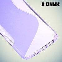 Силиконовый чехол для Samsung Galaxy S6 Edge+ ColorCase - Фиолетовый