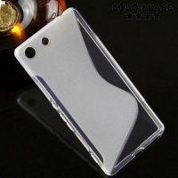 Силиконовый чехол для Sony Xperia M5 и M5 Dual - Прозрачный