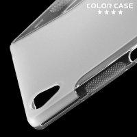 Силиконовый чехол для Sony Xperia Z5 Premium и Z5 Premium Dual - Прозрачный