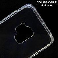 Spectrum Силиконовый противоударный прозрачный чехол для Samsung Galaxy S9