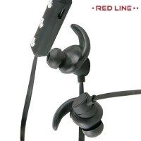 Спортивные беспроводные наушники с микрофоном - Red Line BHS-02 Черный
