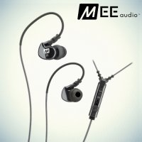 Спортивные наушники гарнитура MEEaudio M6 - Черный