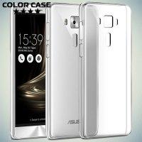 Силиконовый чехол для Asus Zenfone 3 ZE520KL  - Прозрачный