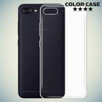Тонкий силиконовый чехол для ASUS ZenFone 4 Max ZC554KL - Прозрачный