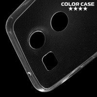 Тонкий силиконовый чехол для LG Nexus 5X - Прозрачный