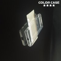 Тонкий силиконовый чехол для Sony Xperia X Compact - Прозрачный