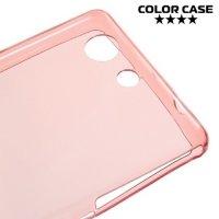 Тонкий силиконовый чехол для Sony Xperia Z3 Compact D5803 - Розовый