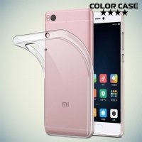 Тонкий силиконовый чехол для Xiaomi Mi 5s - Прозрачный