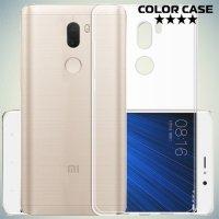 Тонкий силиконовый чехол для Xiaomi Mi 5s Plus - Прозрачный