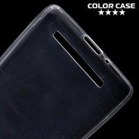 Тонкий силиконовый чехол для Xiaomi Redmi 3 - Прозрачный