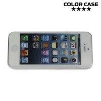 Ультратонкий 0.3 мм кейс чехол для iPhone SE - Прозрачный