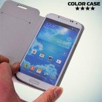 Чехол книжка для телефона 5.0-5.3 дюйма универсальный - белый