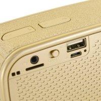 Универсальная беспроводная bluetooth колонка ToughBeats N11 - Золотой