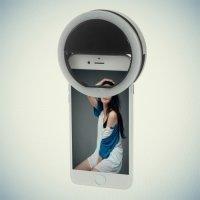 Cветодиодное световое селфи кольцо Selfie Ring