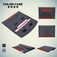 Универсальный чехол из войлока для планшета 9 - 10.5 дюймов - Серый