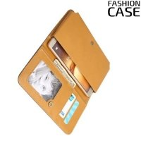 Универсальный чехол кошелек сумочка для телефона 6 дюймов - черный