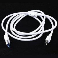 Универсальный кабель для зарядки, передачи данных и синхронизации - USB Type C 3.1 Белый