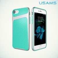 USAMS Knight Series Противоударный чехол для iPhone 8/7 – Бирюзовый
