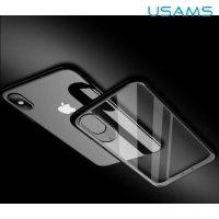 USAMS Miya Series силиконовый чехол для iPhone Xs / X - Прозрачный