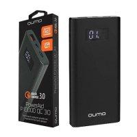 Внешний аккумулятор Qumo PowerAid P10000 V2 QC/PD