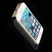 Закаленное защитное стекло для iPhone SE