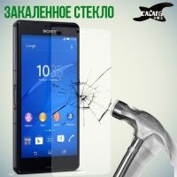 Закаленное защитное стекло для Sony Xperia Z3 Compact D5803