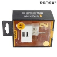 Зарядка для телефона REMAX Moon 2 USB Порта 2 Ампера