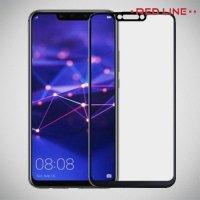 Защитное стекло для Huawei Mate 20 lite - Черный Red Line