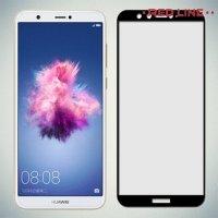 Защитное стекло для Huawei P Smart - Черный Red Line