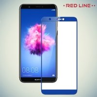 Защитное стекло для Huawei P Smart - Синее Red Line