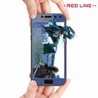 Защитное стекло для Samsung Galaxy J4 2018 SM-J400F - Синий Red Line