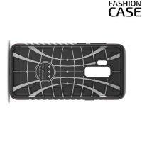 Защитный чехол с поворотной подставкой для Samsung Galaxy S9 Plus - Красный