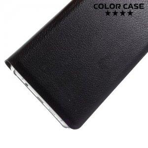 Тонкий чехол книжка для Samsung Galaxy A5 2016 SM-A510F - Черный