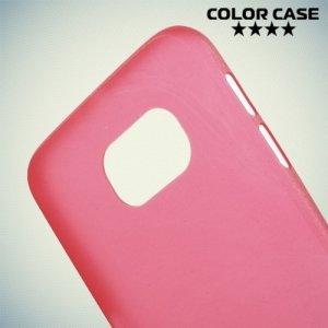 Тонкий чехол для Samsung Galaxy S6 - красный
