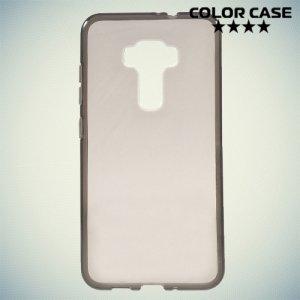 Силиконовый чехол для Asus Zenfone 3 ZE552KL  - Серый