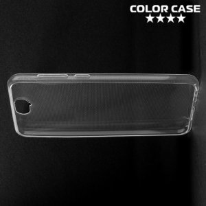 Тонкий силиконовый чехол для HTC One A9 - Прозрачный