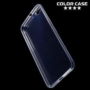 Тонкий силиконовый чехол для HTC One X9 - Прозрачный