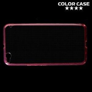 Тонкий силиконовый чехол для HTC One X9 - Красный
