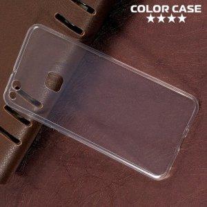 Тонкий силиконовый чехол для Huawei P10 Lite - Прозрачный
