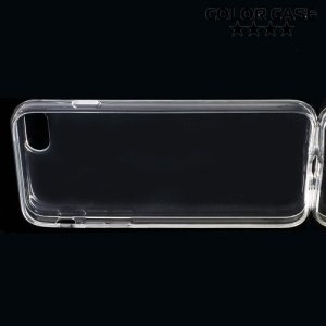 Тонкий силиконовый чехол для нового iPhone 8/7 - Прозрачный