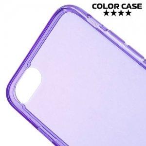 Тонкий силиконовый чехол для iPhone 8/7 - Фиолетовый